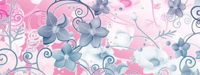 Скачать Deco Flowers Photoshop Brushes By Coby17