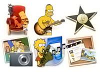 Скачать 27 наборов иконок с киношными предметами и популярными персонажами