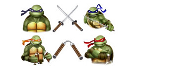 Скачать Turtles   Teenage Mutant Ninja