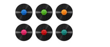 Скачать Vinyl Record Icons