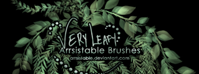 Скачать Very Leafy Brushes By Arrsistable