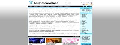 Посетить Brushes Download