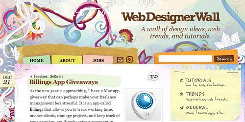 Перейти на Web Designer Wall