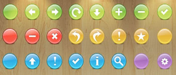 Скачать Buttons Toolbar icons