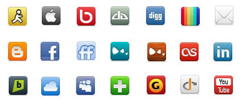 Скачать Social Network Icon Pack