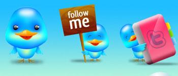 Скачать Twitter Blog Icons