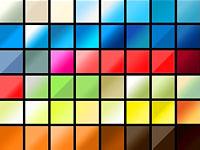 Скачать 25 наборов интересных цветных градиентов для фотошопа