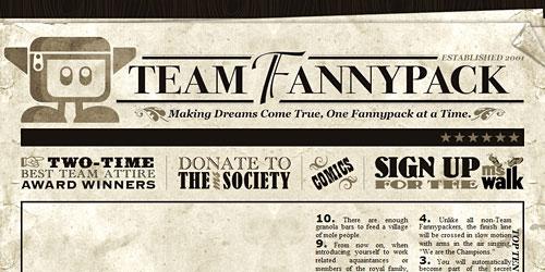 Перейти на Team Fanny Pack