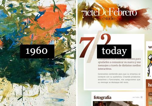 Если бы известные художники прошлого были дизайнерами,то как бы это выглядело сейчас