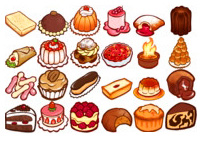 Скачать 25 наборов иконок с изображениями еды, напитков и прочих вкусностей