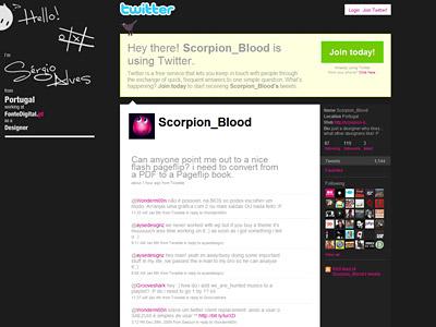 Перейти на Scorpion Blood