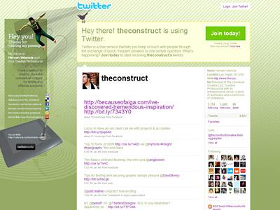Перейти на Theconstruct