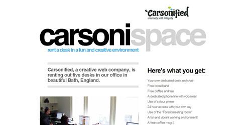 Перейти на Carsonified