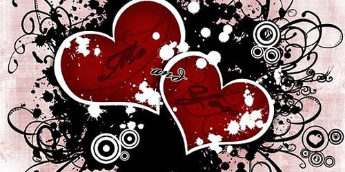 Перейти на Grunge Love Wallpaper
