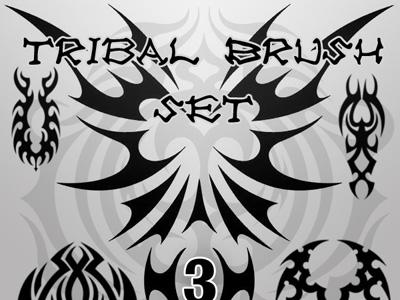 Скачать Tribal Brush Set