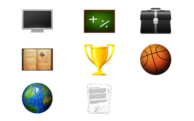 Скачать Curriculum Vitae icons (8 штук)