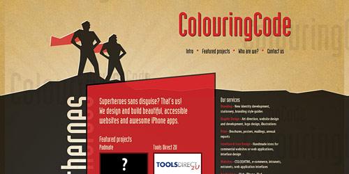 Перейти на Colouring Code