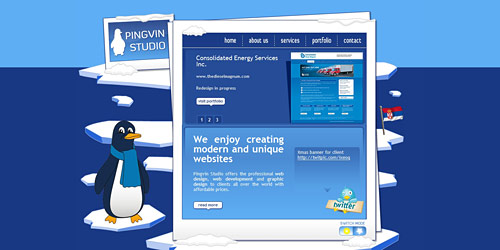 Перейти на Pingvinstudio