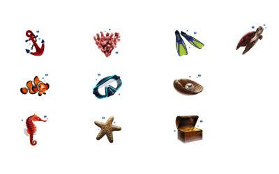 Скачать Diving Icons