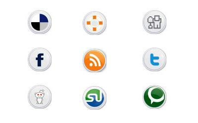 Скачать Social Button Icons