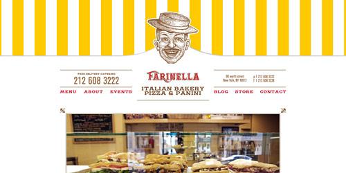 Перейти на Farinella bakery