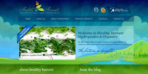 Перейти на Healthy harvest hydro