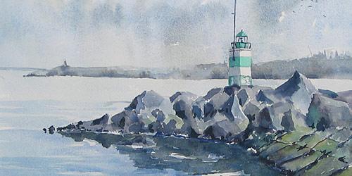 Перейти на IJmuiden Lighthouse