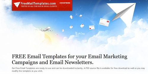 Перейти на Free mail templates