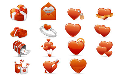 Скачать iValentine Love Icons