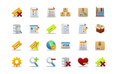 Скачать Pretty Office 3 Icons