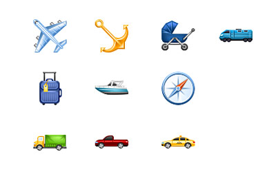 Скачать Perfect Transport Icons
