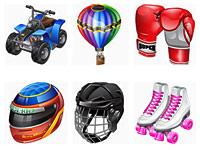 Скачать бесплатно 395 замечательных иконок разнообразной тематики за май