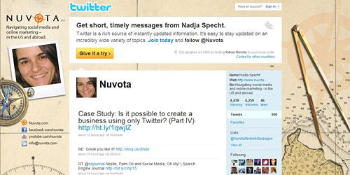 Перейти на @nuvota