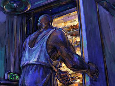 Батов Антон (art_bat) Ночной голод