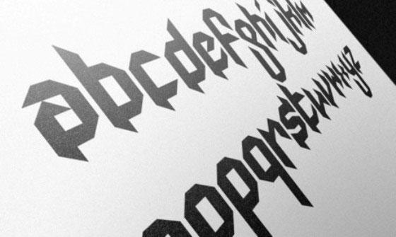 Скачать Mod Gothic Font