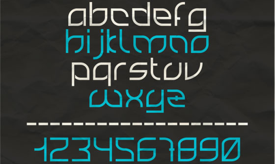 Скачать Rounded Font