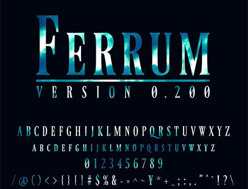 Ferrum (version 0.200)