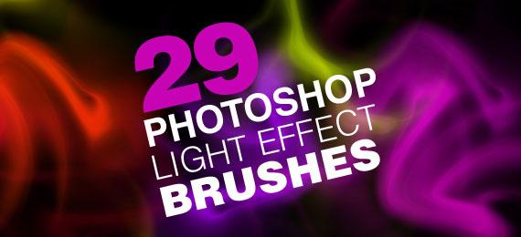 Скачать 29 Light Effect Brushes for Photoshop