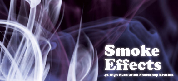 Скачать Stunning Smoke Effects: 42 Photoshop Brushes
