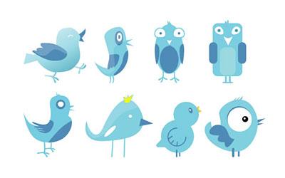 Скачать Twitter Birds Set