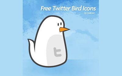 Скачать Free Vector Icons Set + Twitter Birdy Icon