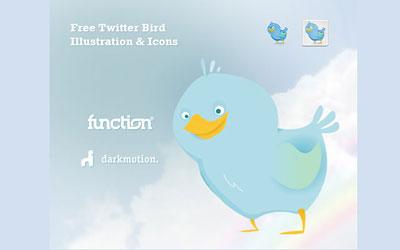 Скачать Twitter Bird Icons & Illustration