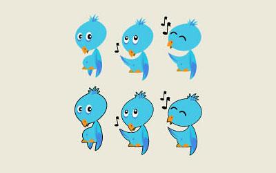 Скачать Twitter Bird Icon