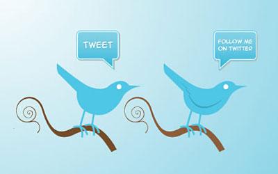 Скачать Free Vector Twitter Icons