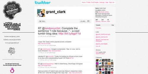 Перейти на @grant_clark