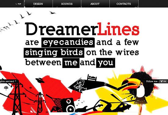 Перейти на Dreamer lines