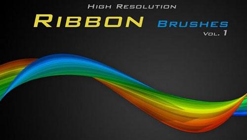 Скачать Ribbons brushes by Rozairo