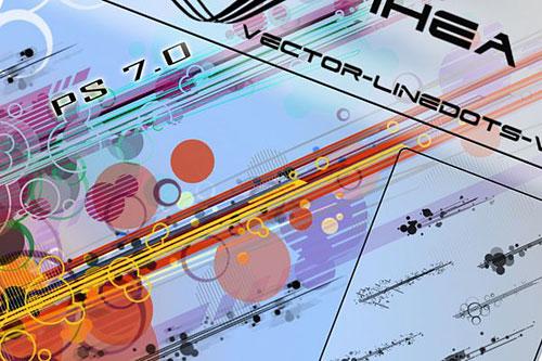 Скачать VECTOR-LINEDOTS PS 7.0 – HQ by ~IHEA