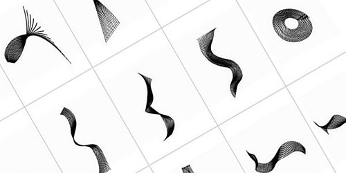 Скачать Spiral Brush Set by Creative Nerds