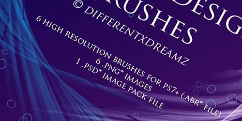 Скачать Abstract Design Brushes by ~differentxdreamz